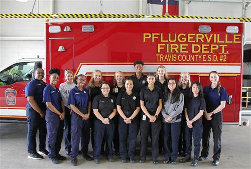 Group Photo of EMT Students