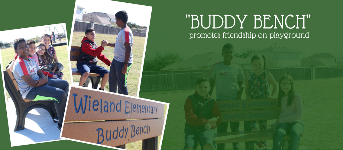 'Buddy Bench' promotes friendship on playground