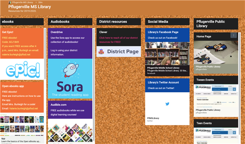 Link to padlet.