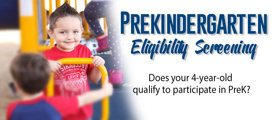 PreK and Kinder Registration