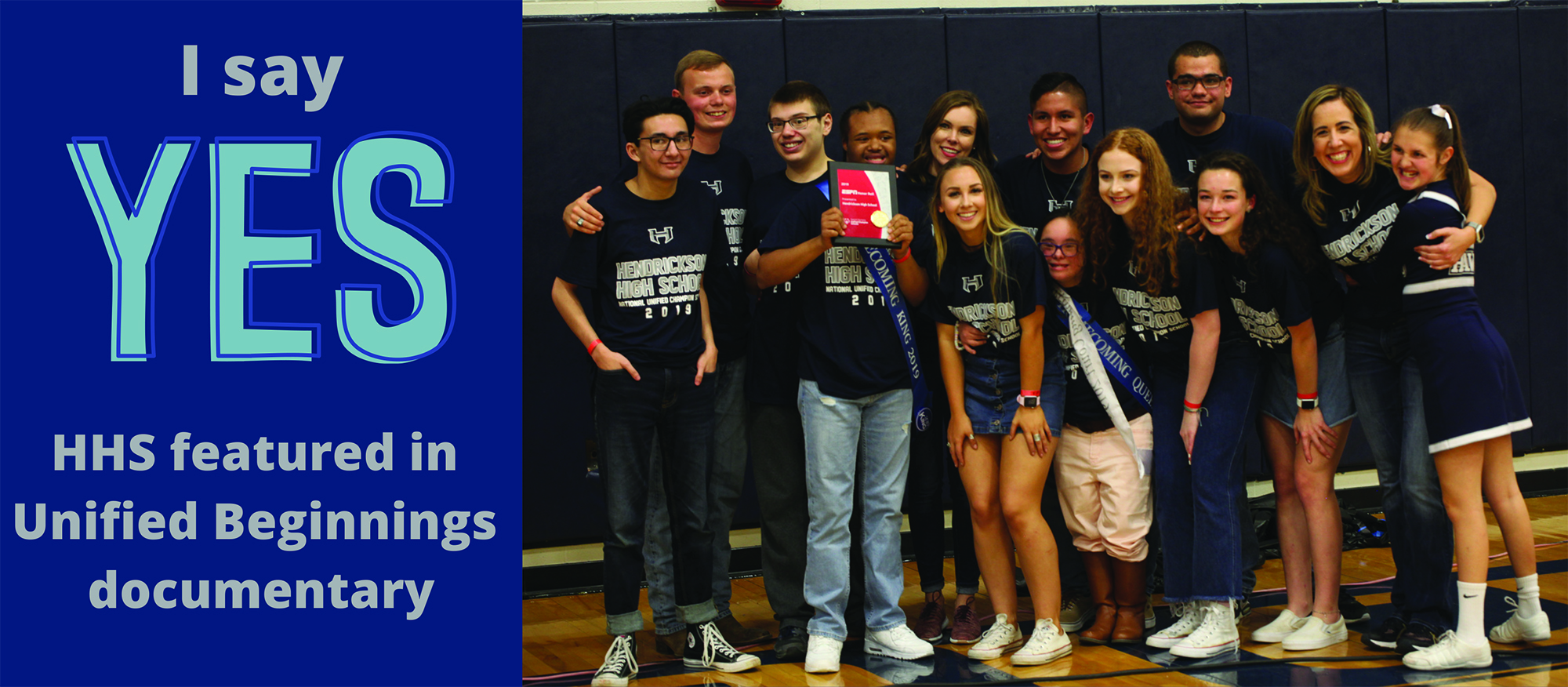 I say YES: HHS featured in Unified Beginnings documentary