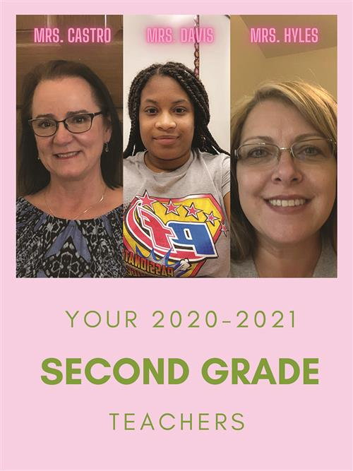 Brookhollow Second Grade Teachers 2020-21