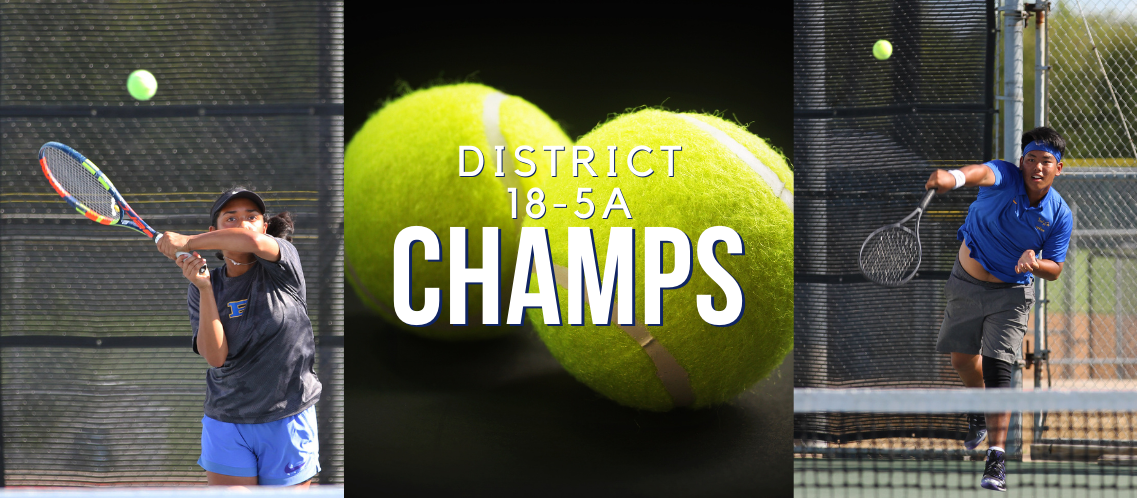 Tennis wins first district championship