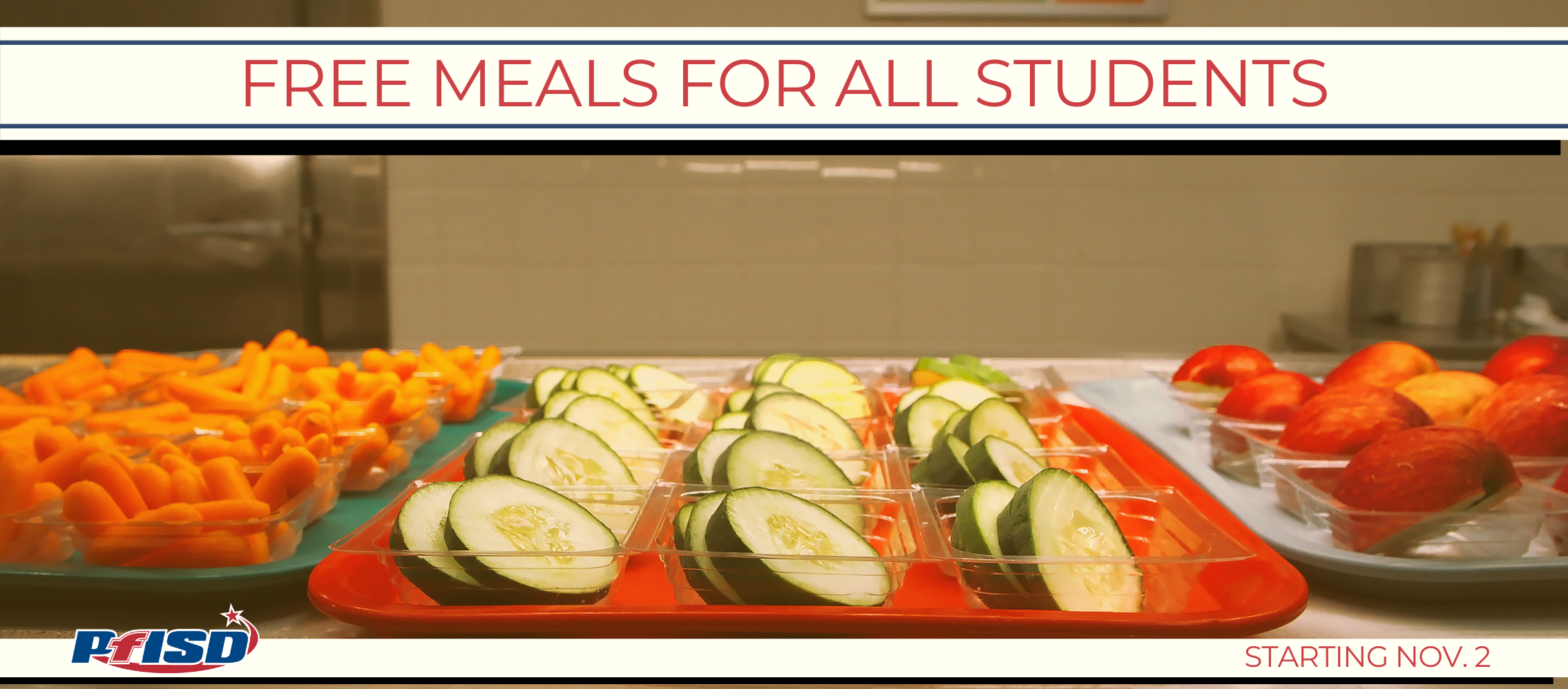 Free meals for all students