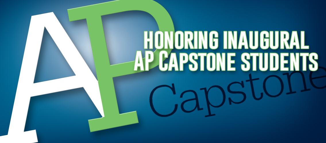 Students honored for work in AP Capstone program
