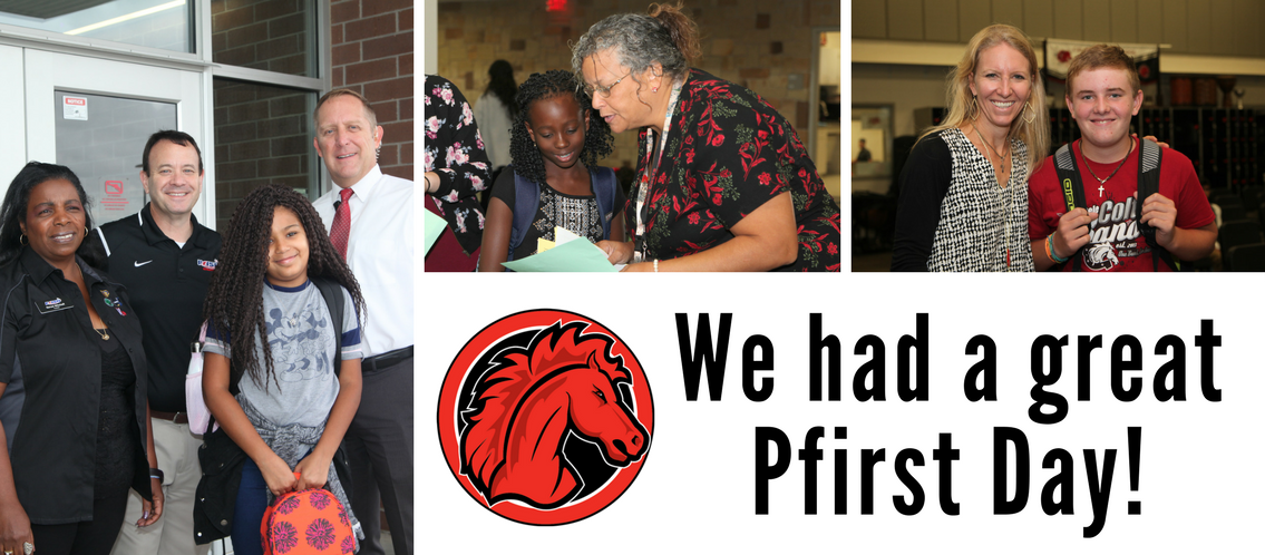 We had a great Pfirst Day!