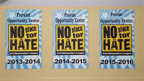 Provan Opportunity Center Earns 'No Place for Hate' Honors