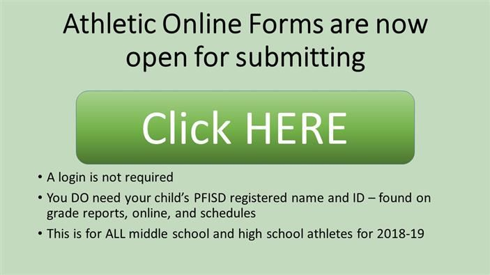 All Middle School Physicals to Be Registered Online