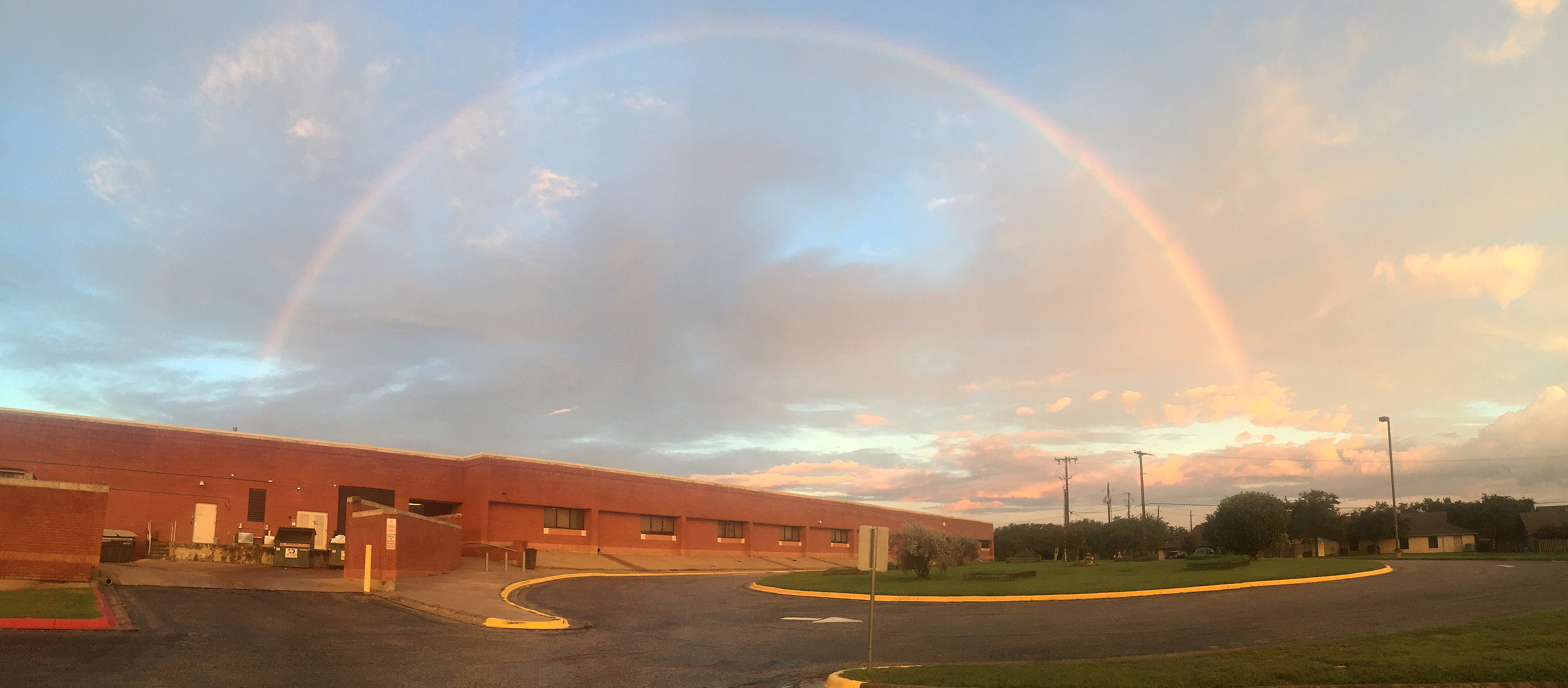 Rainbow at Pflugerville Middle