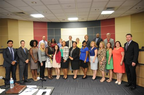 PfISD elementary principals and APs recognized