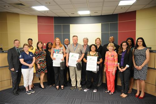 A+ Foundation presents scholarships to PfISD staff