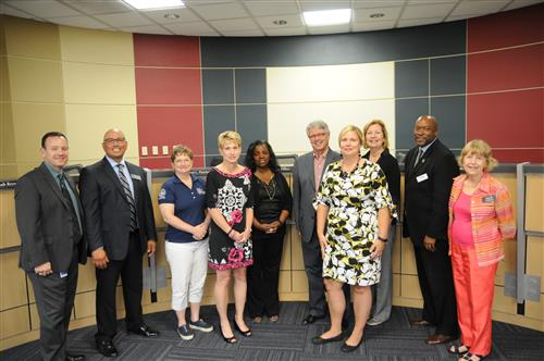 New PfISD administrators presented to the board