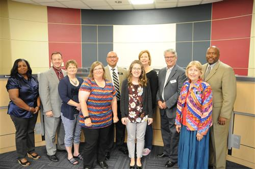Employees of the Month for September Tylene Cunning and Kristen Clifford were recognized.