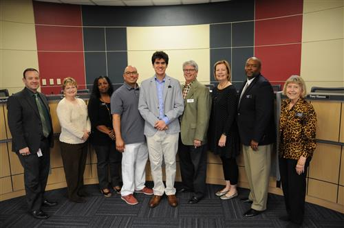 Doru Gucer earned National Merit Scholarship Finalist status