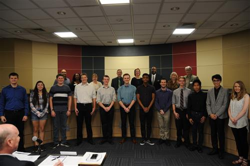 All-State Band and Choir students were recognized