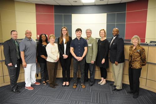 UIL state champions and finalists in swimming and wrestling were recognized