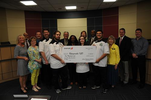 Connally HS culinary students honored