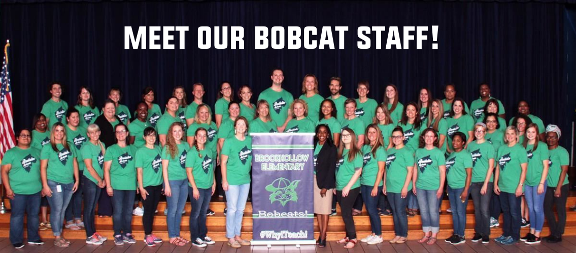 Meet our Bobcat Staff!