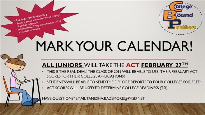 Junior ACT Day - Feb 27th