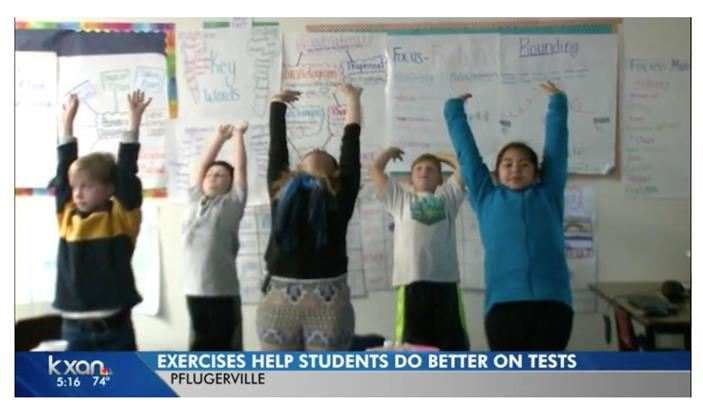 PES students featured on KXAN