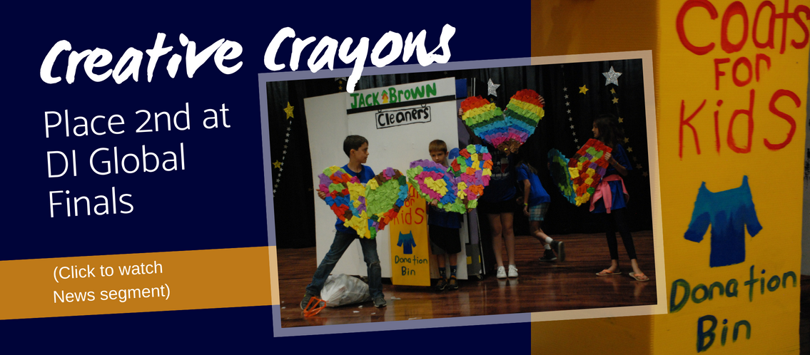 Creative Crayons place 2nd at DI Global Finals