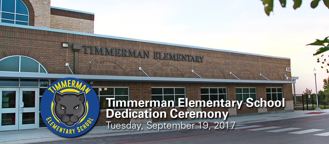 Timmerman Dedication held Sept. 19