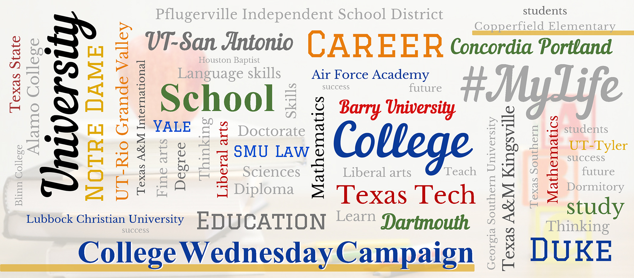 College Wednesday Campaign