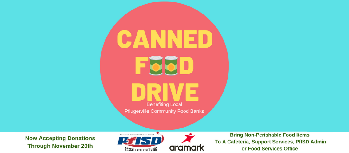 Aramark Canned Food Drive
