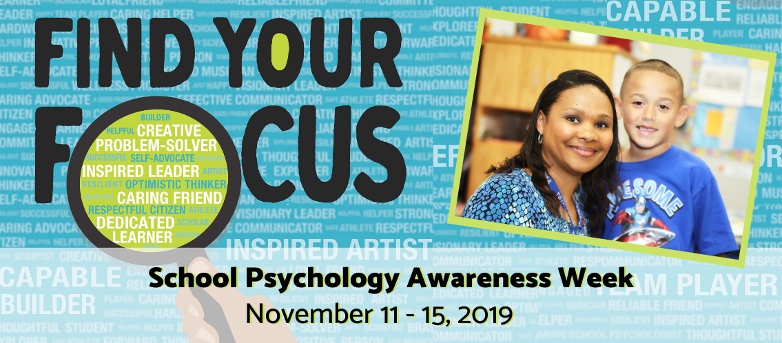 School Psychology Awareness Week, Nov. 11-15