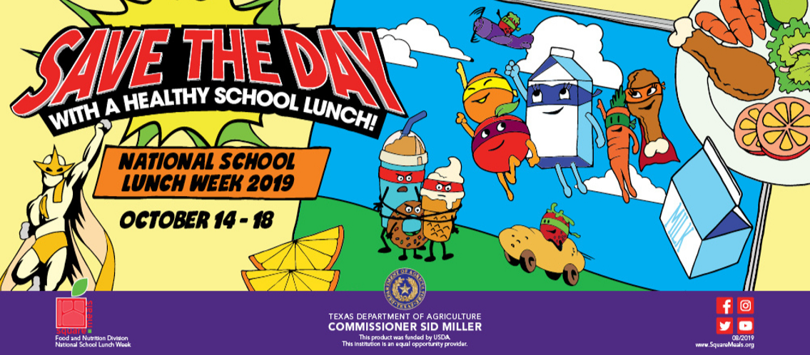 National School Lunch Week, Oct. 14-18
