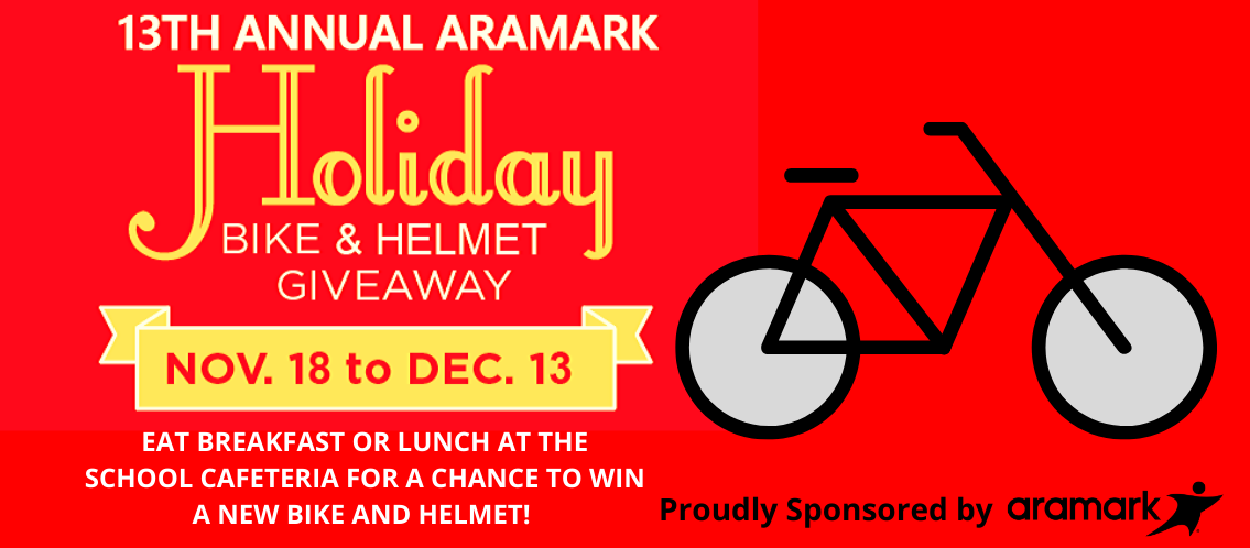 Aramark Holiday Bike Giveaway