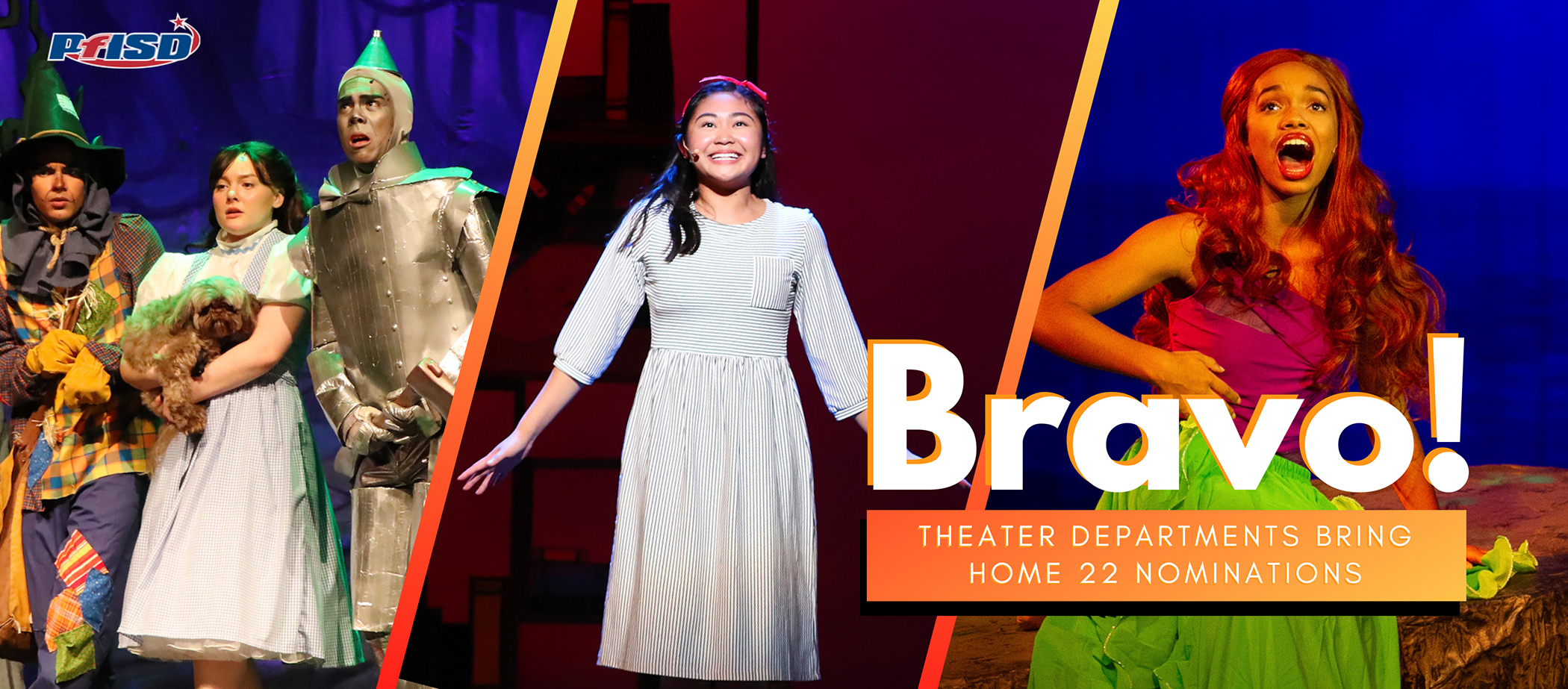Bravo! Theater departments bring home 22 nominations