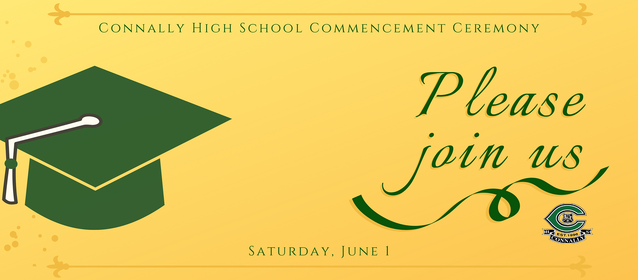Connally Commencement
