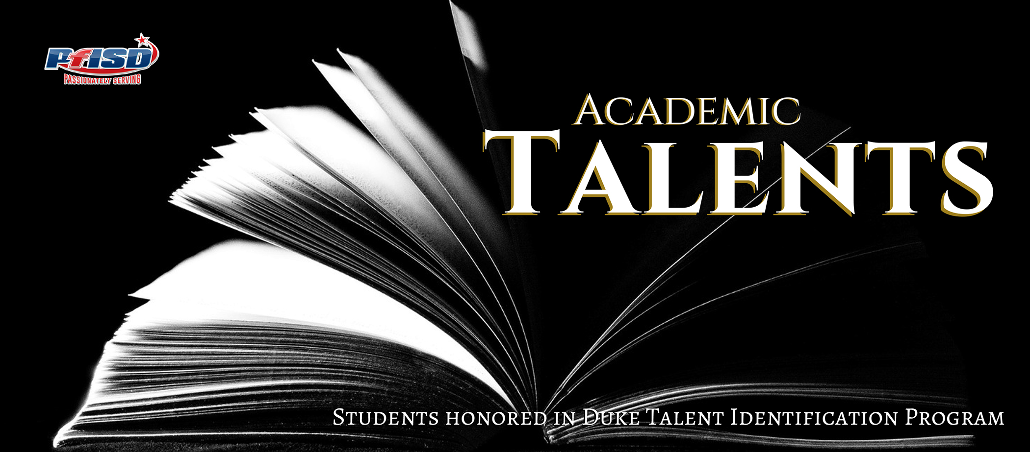 Students honored in Duke Talent Identi-fication Program