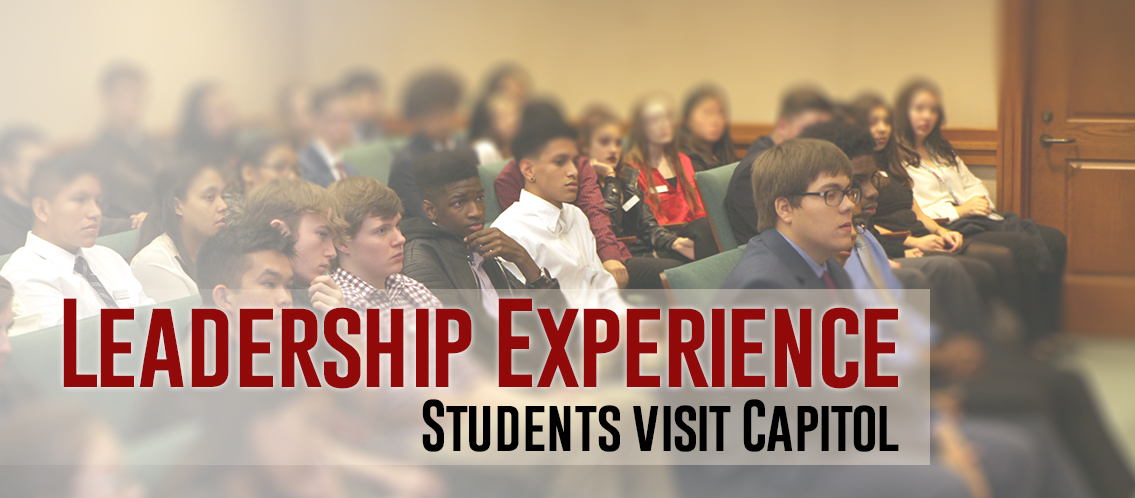 Students visit Capitol for Leadership Experience