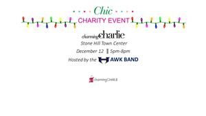 charming charlie fundraiser