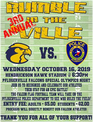 3rd Annual Rumble in the 'Ville