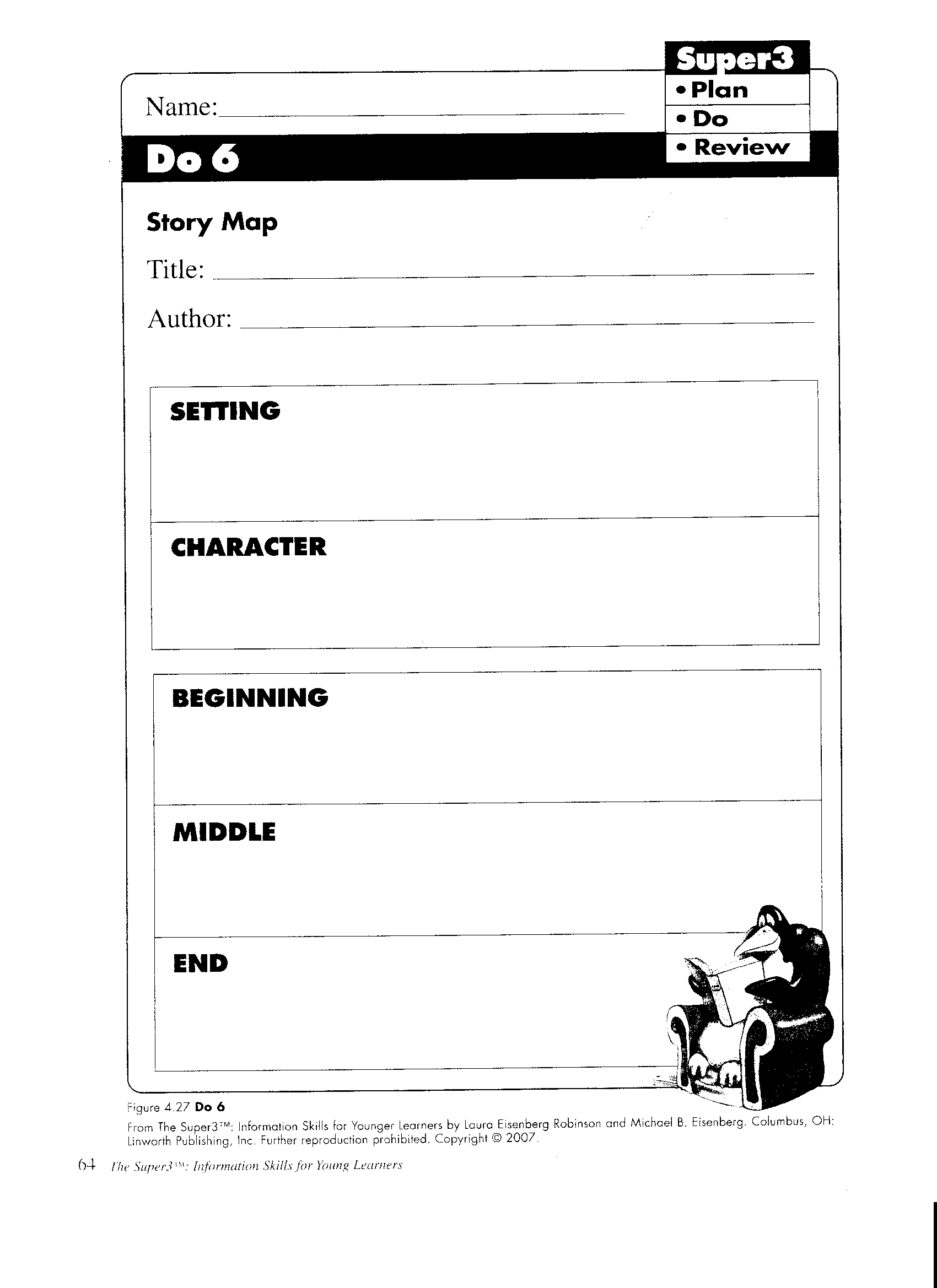 Short story worksheet middle school elements of a short for Story planner free
