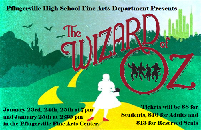 PHS Theatre Presents:  The Wizard of Oz